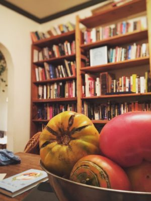 Tomatoes and Dan's Books